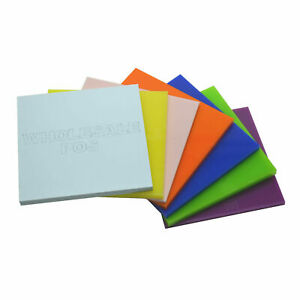 Acrylic Perspex Sheet 3mm Plastic Cut To Size 100 Colours A5 A4 Custom