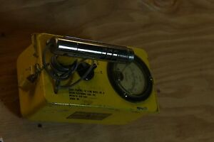 Anton Cdv 700 Geiger Counter Model Civil Defense Radiation Detector