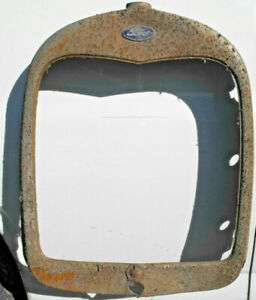 1928 1929 Ford Model A Radiator Grille Shell Surround Shroud 28 29 Used A