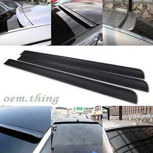 Unpainted Fit For Kia Forte Koup Coupe Window Visor Roof Sport Spoiler 09 13