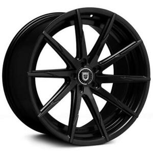 4ea 24 Lexani Wheels Css 15 Gloss Black Rims s7
