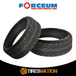 2 New Forceum Hexa R 205 45r18 90yr Ultra High Performance Tires