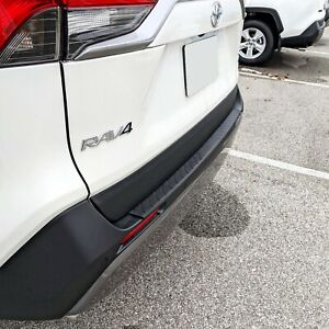 Rear Bumper Protective Molding Scratch Guard For Toyota Rav4 2019 2021
