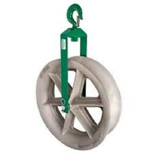 Greenlee 8024 24 Hook Sheaves For Cable Puller New
