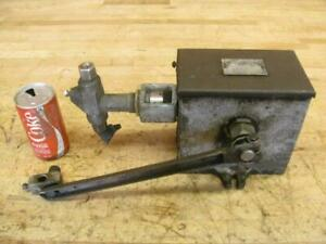 Vintage Hit Miss Gas Steam Engine Mccord Force Feed Lubricator Texsteam Injector