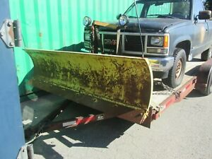 Fisher Snow Plow 7 1 2 Foot For Gmc Chevy Chevrolet 1988 1998 Generation