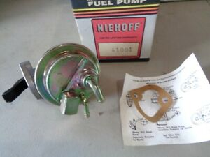 Nos New Vintage Ac Fuel Pump 41001 Chevelle Monte Carlo 454 1973 1974 1975 Ss