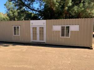Shipping Container tiny Home office