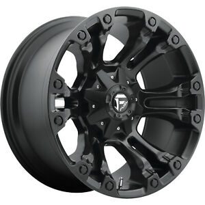 4 20x10 Black Fuel Vapor 6x135 6x5 5 18 Wheels Terra Grappler G2 Tires