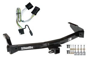 Trailer Tow Hitch For 01 03 Dodge Van Ram Without Factory Step Bumper W Wiring
