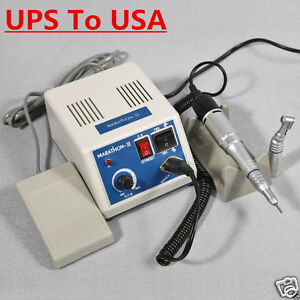 Dental Lab Electric Micromotor Marathon 35k Rpm Motor Contra Angle