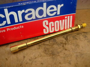 Vintage Schrader Scovill 8 Tire Air Valve Extensions Made In Usa Quanity Is 4