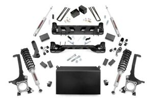 Rough Country 6 Lift Kit Fits 07 15 Toyota Tundra N3 Loaded Struts Shocks