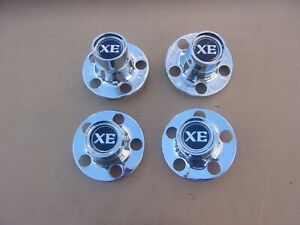 Nice Set Of 4 1978 Dodge Magnum Xe Wheel Center Domes Beautiful Medallions