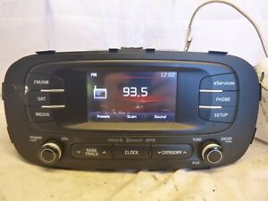 14 15 16 Kia Soul Radio Mp3 Sirius Player Bluetooth 96170 B2020ca Djv04
