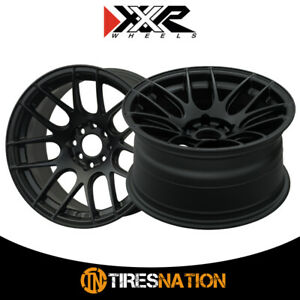 2 Xxr 530 19x10 75 5 4 5 73 1 Hub 15 Offset Flat Black Wheel Rim