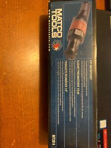Matco Tools 1 4 Air Ratchet Mt2814