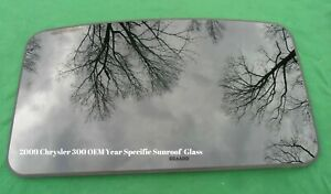 2009 Chrysler 300 Year Specific Oem Sunroof Glass Panel Free Shipping