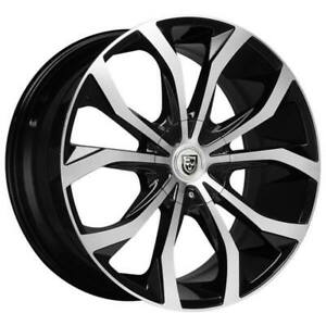 4ea 24 Lexani Wheels Lust Bm Rims s8