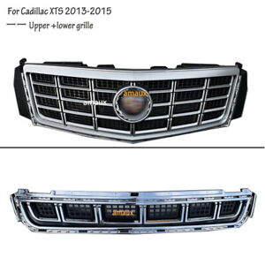 For Cadillac Xts 2013 2015 Front Bumper Radiator Vent Grill Upper Lower Grille