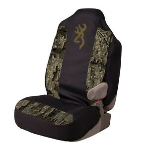 Browning Seat Cover Realtree Timber Camo Universal Bucket Seat Cover