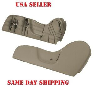 Driver Side Seat Trim Bezel Tan Beige Lh Fits 2001 2004 Tacoma With Clip