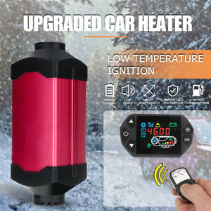 Hcalory Metal 8kw 12v Lcd Thermostat Diesel Air Heater For Boats Trucks Trailer