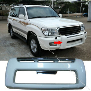Abs Front Bumper Bull Bar Guardrail Fit For Toyota Land Cruiser Lc100 1998 2007