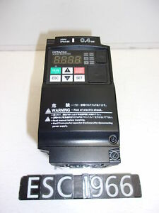 Hitachi Wj200 004sf 1 2 Hp Inverter Variable Frequency Drive Vfd esc1966