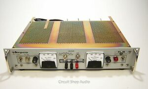 Nos Kepco 0 325 Vdc 0 400 Ma Regulated Tube Power Supply Hb 4a C45374 Kt