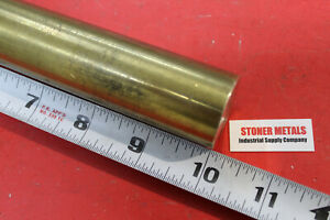 1 1 4 Brass C360 Round Bar 10 Long H02 Solid Rod New Lathe Bar Stock 1 25 Od