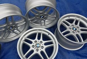Bmw E38 E34 M5 Oem Mpar M Parallel 18x9 5 8 Restored Style 37 Forged Wheels Rims