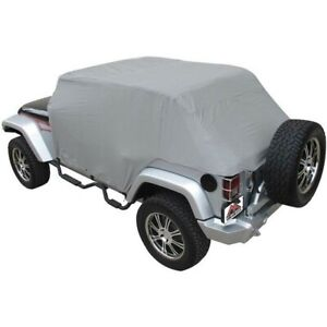 Cc10809 Rt Off road Car Cover New Gray For Jeep Wrangler Jk 2018