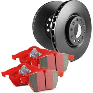 S12kr1143 Ebc Brake Disc And Pad Kits 2 wheel Set Rear New For Chevy Olds Impala