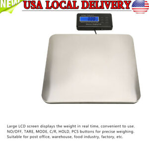 Digital Shipping Receiving Postal Scale 660 Lb 300 Kg Capacity Led Screen