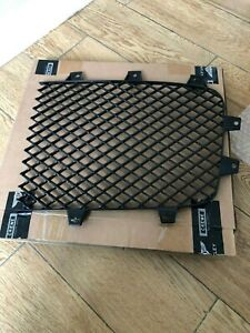 2011 Bentley Continental Gt Gtc Left Front Black Radiator Grille 3w3853683a