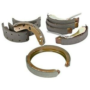 111 10090 Centric 2 Wheel Set Parking Brake Shoes Rear New For Chevy Chevrolet