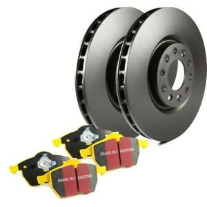 S13kf1615 Ebc 2 wheel Set Brake Disc And Pad Kits Front New For Ford Mustang