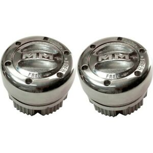 104 Mile Marker Set Of 2 Locking Hubs New For Chevy Suburban Blazer Truck Pair