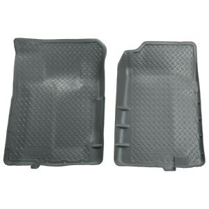 31102 Husky Liners Floor Mats Front New Gray For Chevy Suburban Chevrolet Tahoe