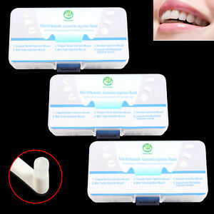 3 Boxes Dental Orthodontic Quick Built Aesthetics Accessories Injection Mould