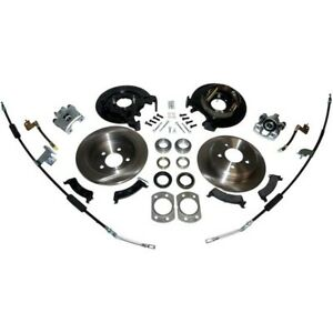 Rt31045 Rt Off road Disc Brake Upgrade Kit Rear New For Jeep Wrangler 1997 2006