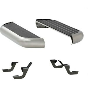 575036 570121 Luverne Running Boards Set Of 2 New Polished For E150 Van Pair