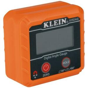 Klein Tools Digital Angle Gauge Level High Visibility Reverse Contrast Display