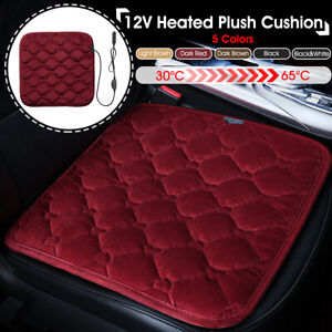 12v Electric Heated Car Seat Cushion Cover Heating Heater Warmer Pad 5
