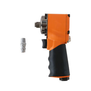 1 2 Drive Air Impact Wrench Pneumatic Single Hammer Remove Tool Set 600ft Lb