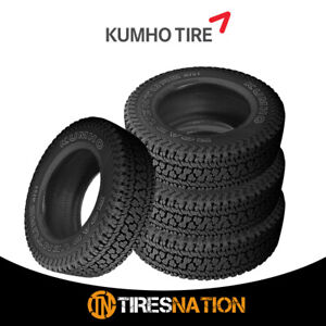 4 New Kumho At51 Road Venture At 255 70 17 110t All terrain Handling Tire