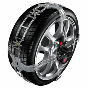 Snow Tire Chains Thule konig K summit Gr 33 K33 205 60 16 Front Mount