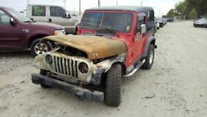 Bare Steering Column Floor Shift With Tilt Wheel Fits 01 02 Wrangler 6157085