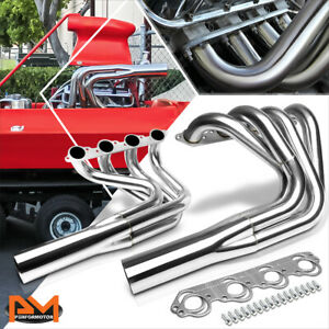 For Chevy Big Block Bbc V8 Jet Boat Stainless No Water Injection Exhaust Header